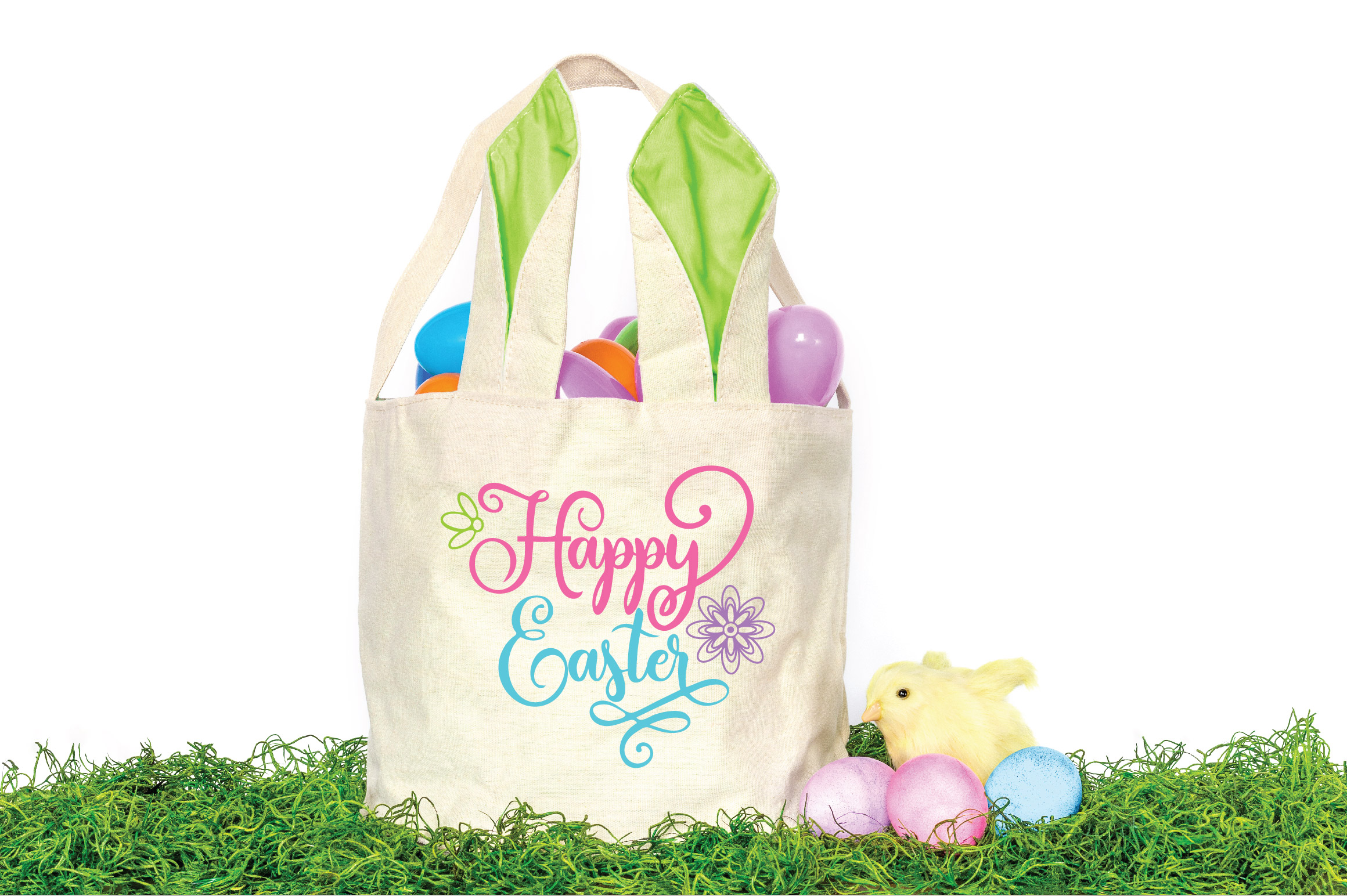 Easter SVG Cut File - Happy Easter SVG DXF EPS PNG JPG AI example image 2