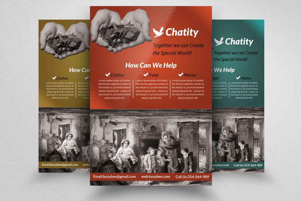 6 Charity & Donation Flyers Bundle example image 6