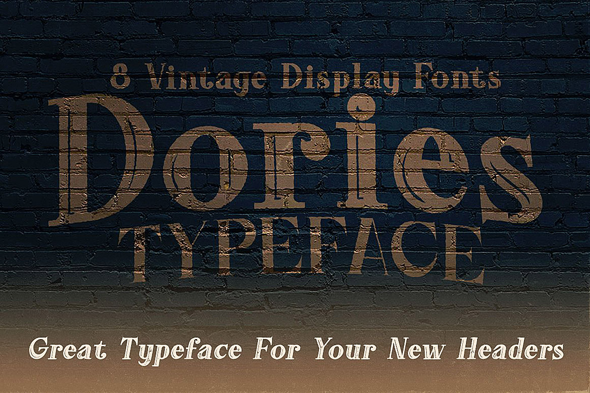 Dories - Display Font example image 5