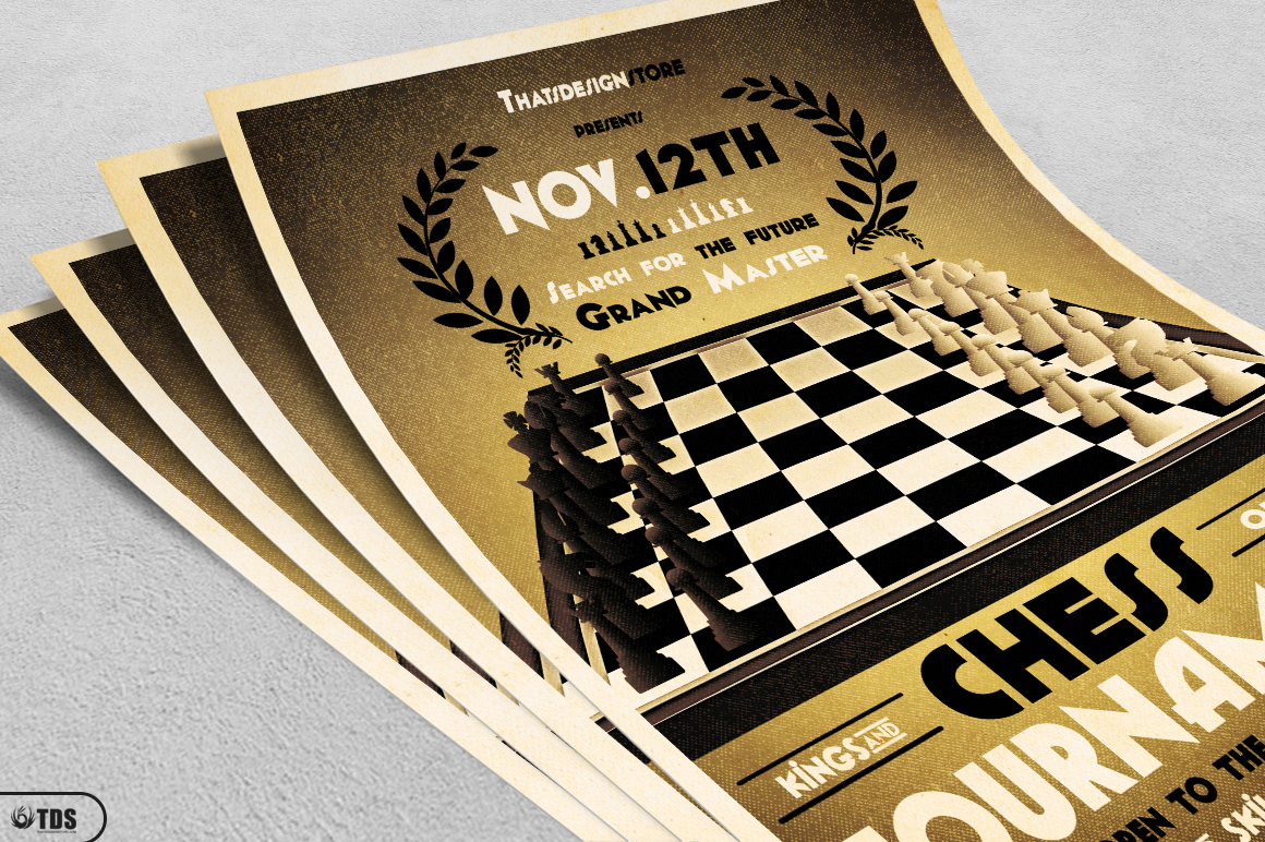 Chess Tournament Flyer Template example image 3