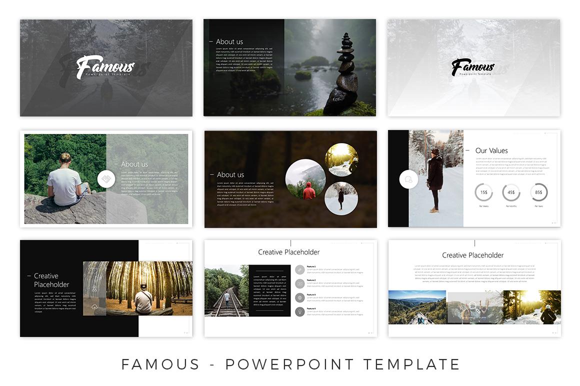 Famous - Creative Presentation example image 6