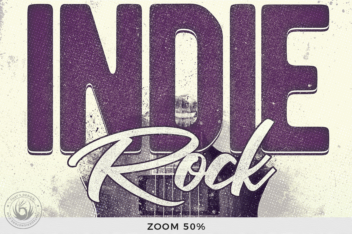Indie Rock Flyer Template V3 example image 7
