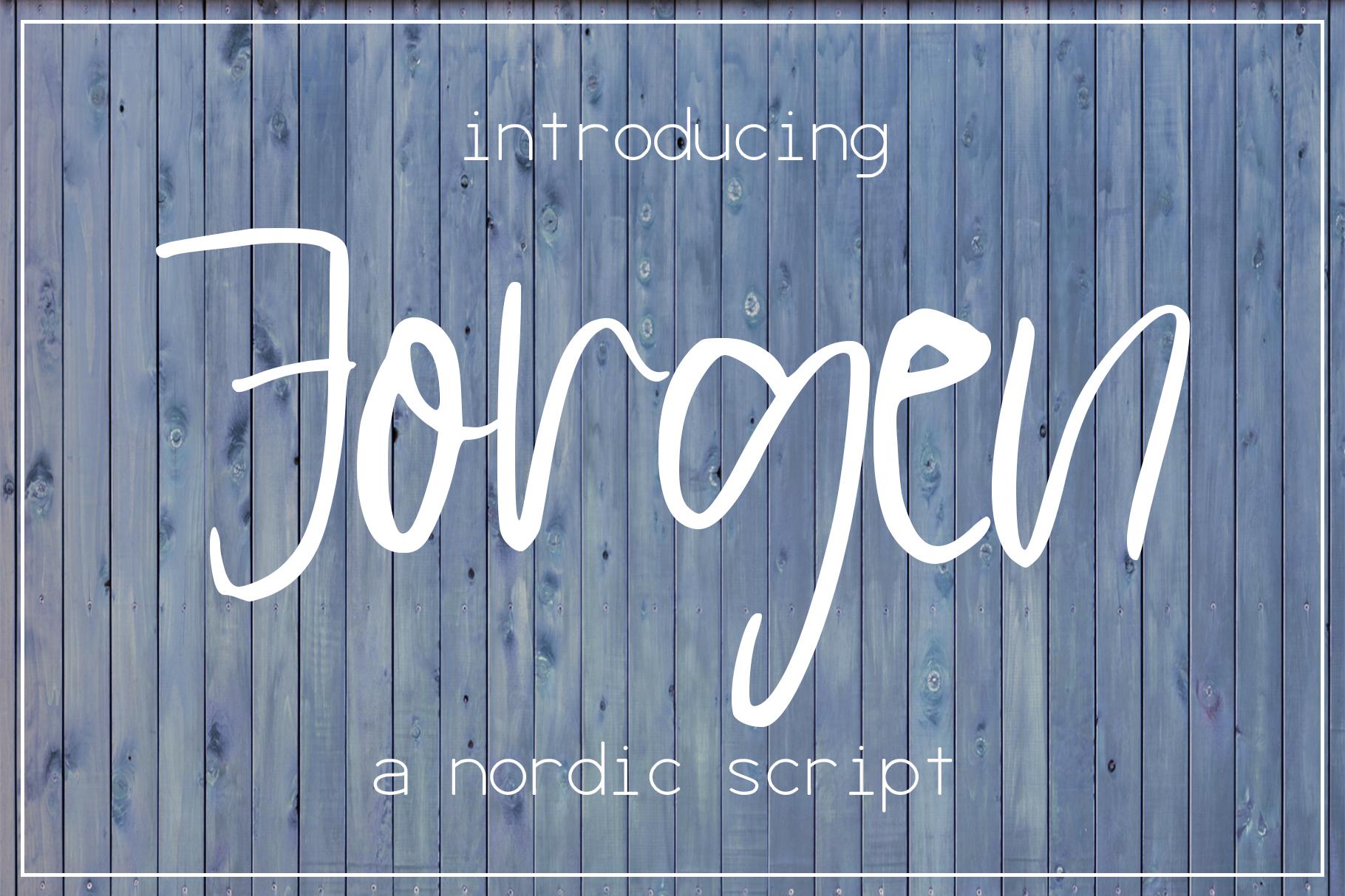 Jorgen Font example image 1