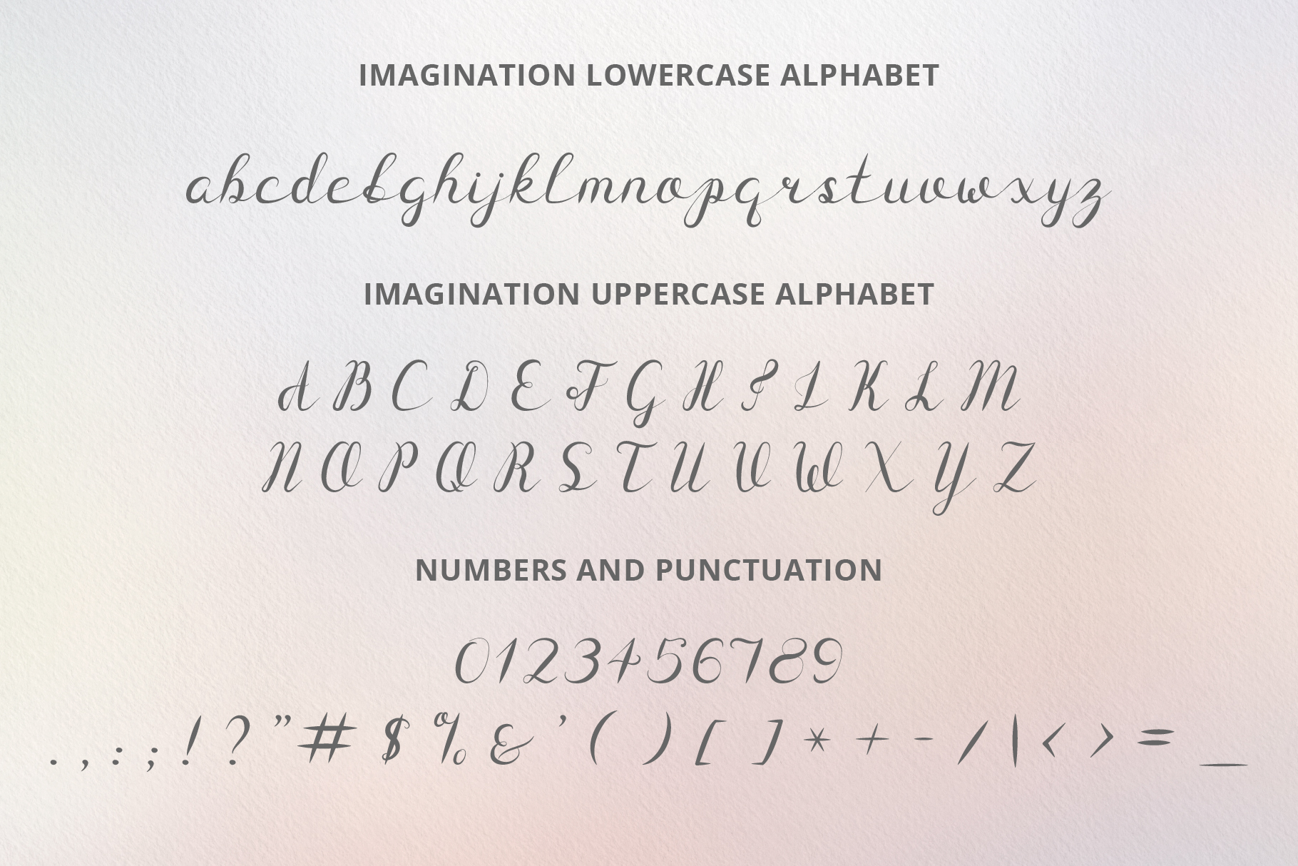 Imagination Calligraphy Font example image 6