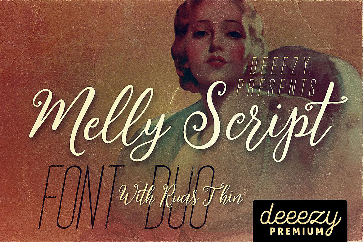 Melly Script Font Duo example image 1