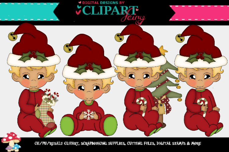 Baby Boy Christmas 3 example image 1