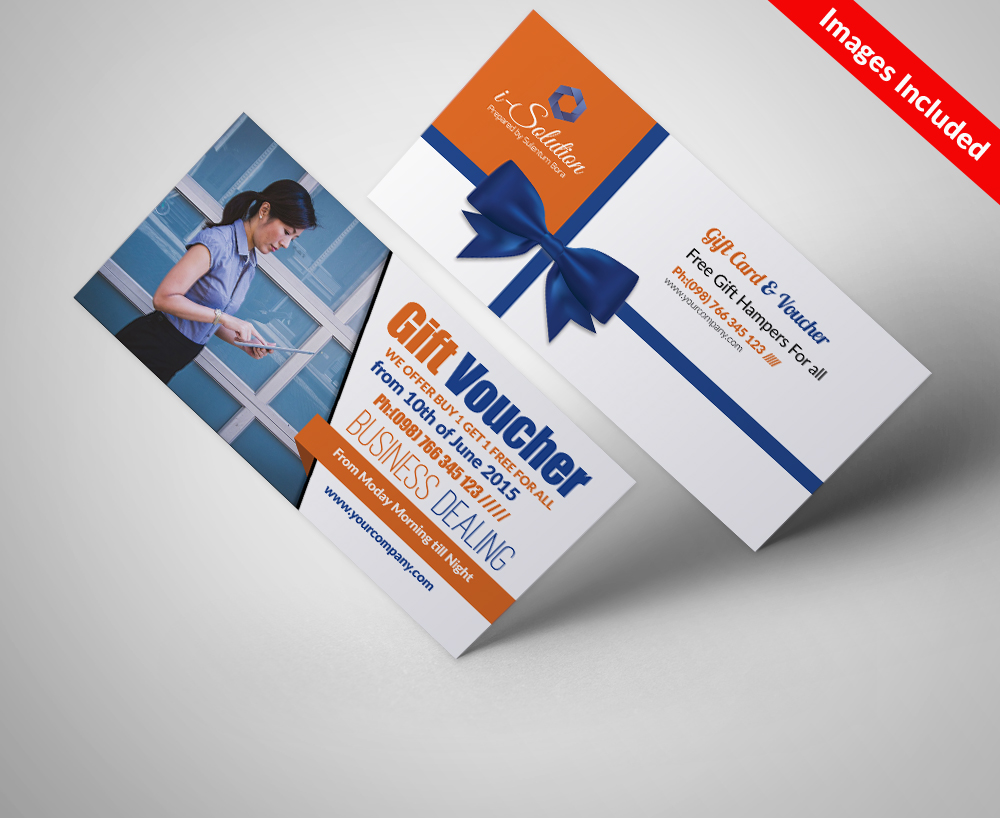 Business Vouchers Psd Template example image 1