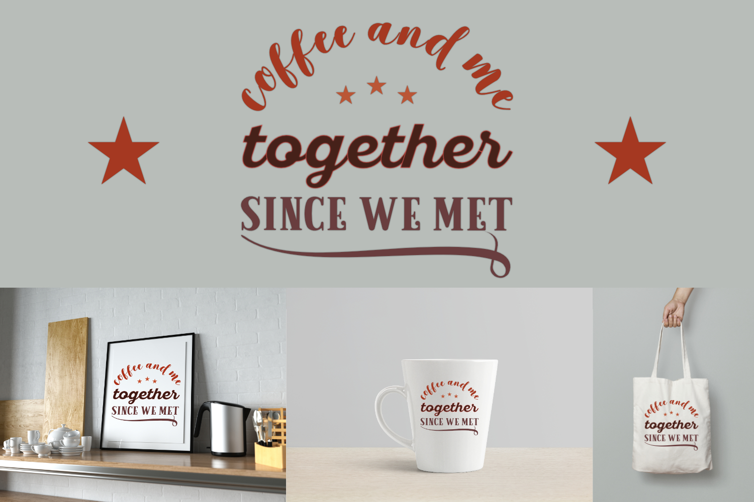 Coffee And Me Together Since We Meet example image 1
