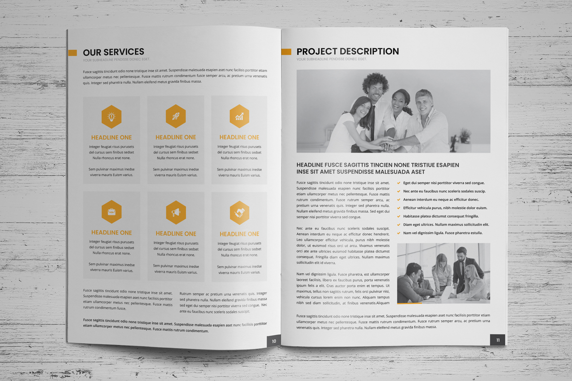 Company Profile Brochure v8 example image 7