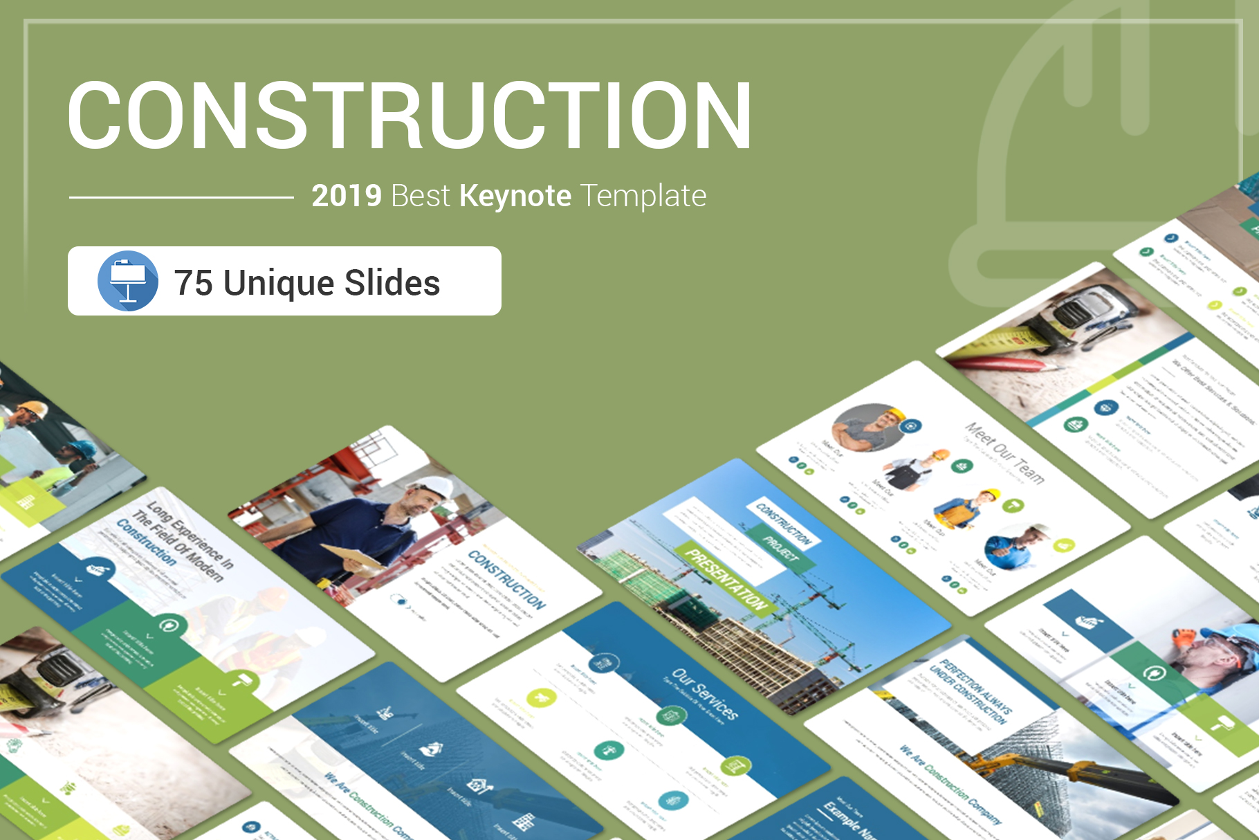 Construction Keynote Template example image 1