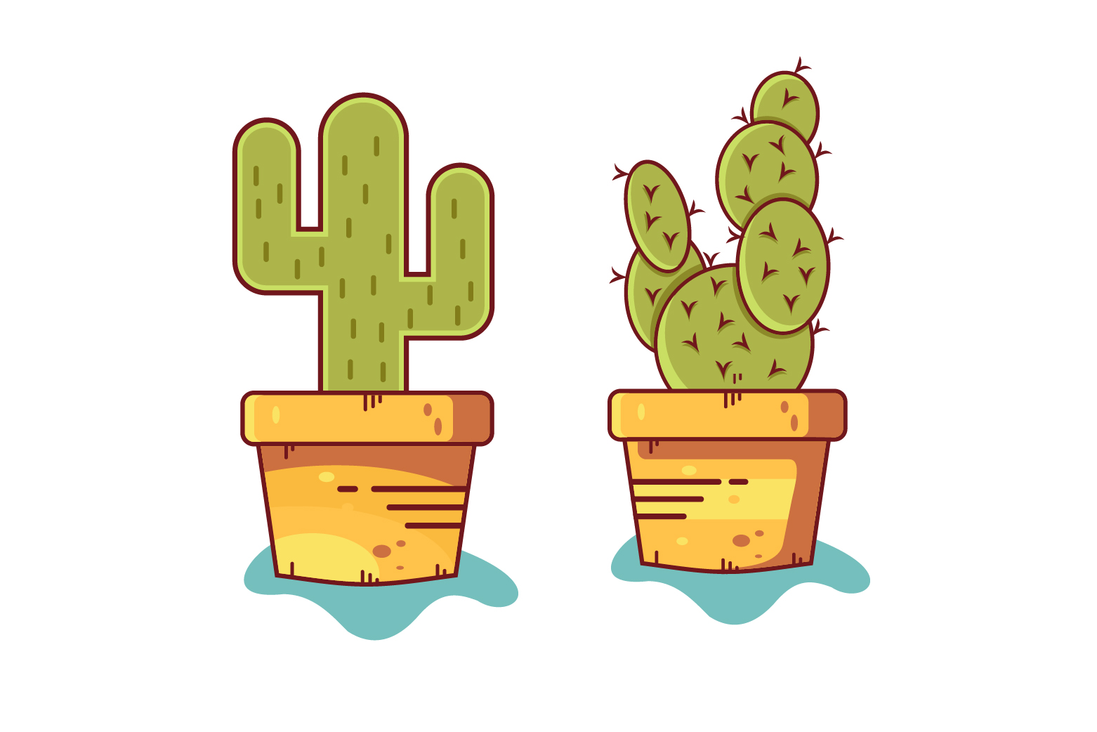 Cactus Ilustrations example image 2