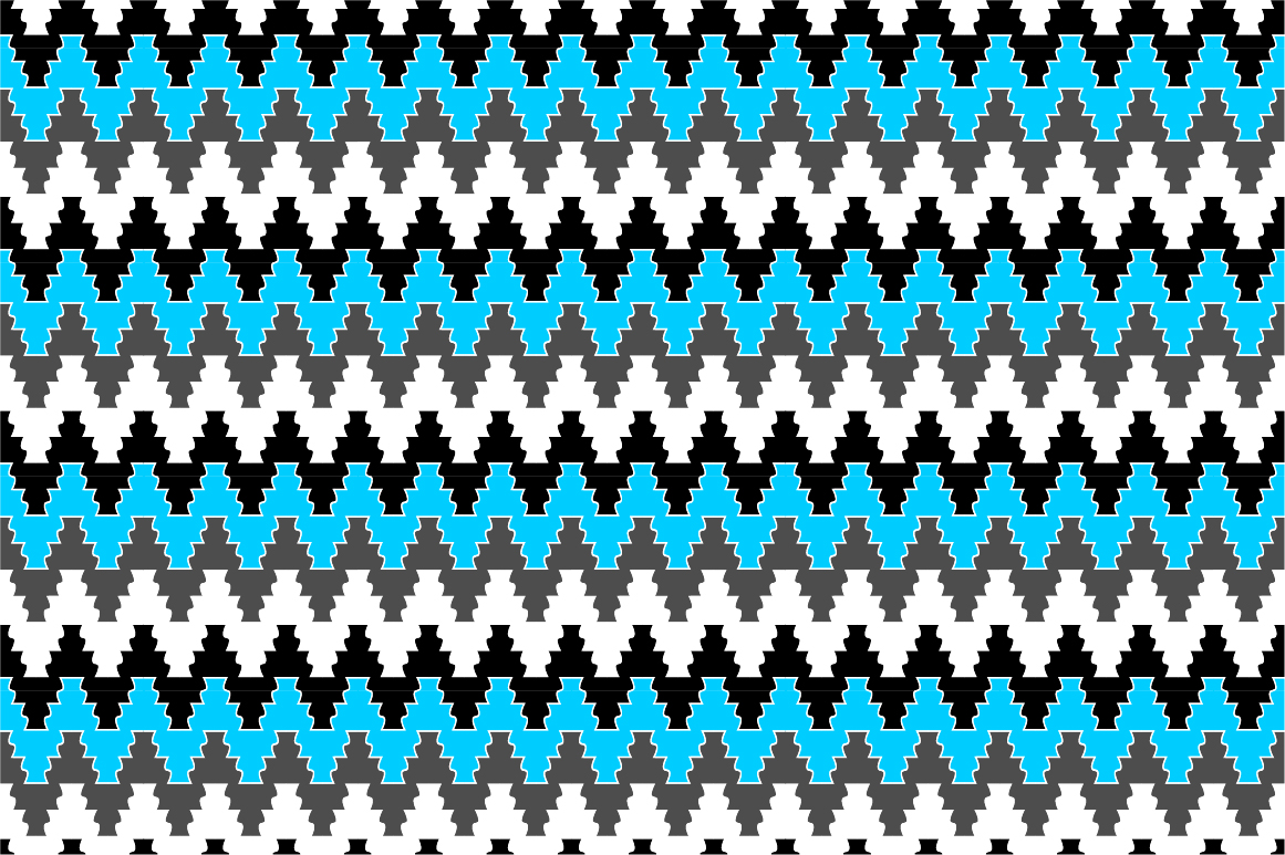 Colorful ornamental patterns. example image 10