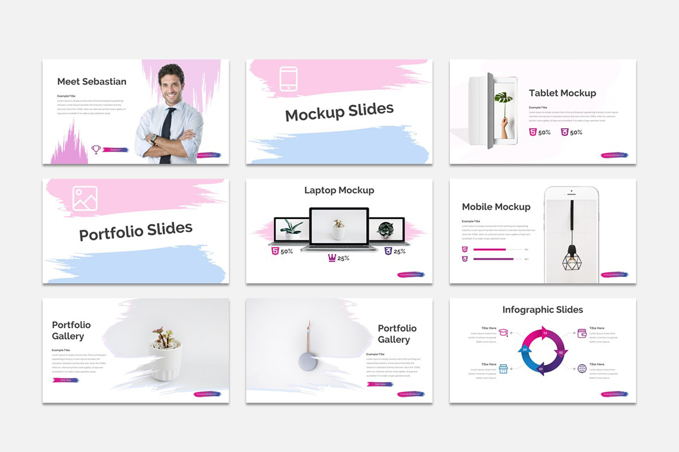 ACCOS - Multipurpose Powerpoint Template example image 2