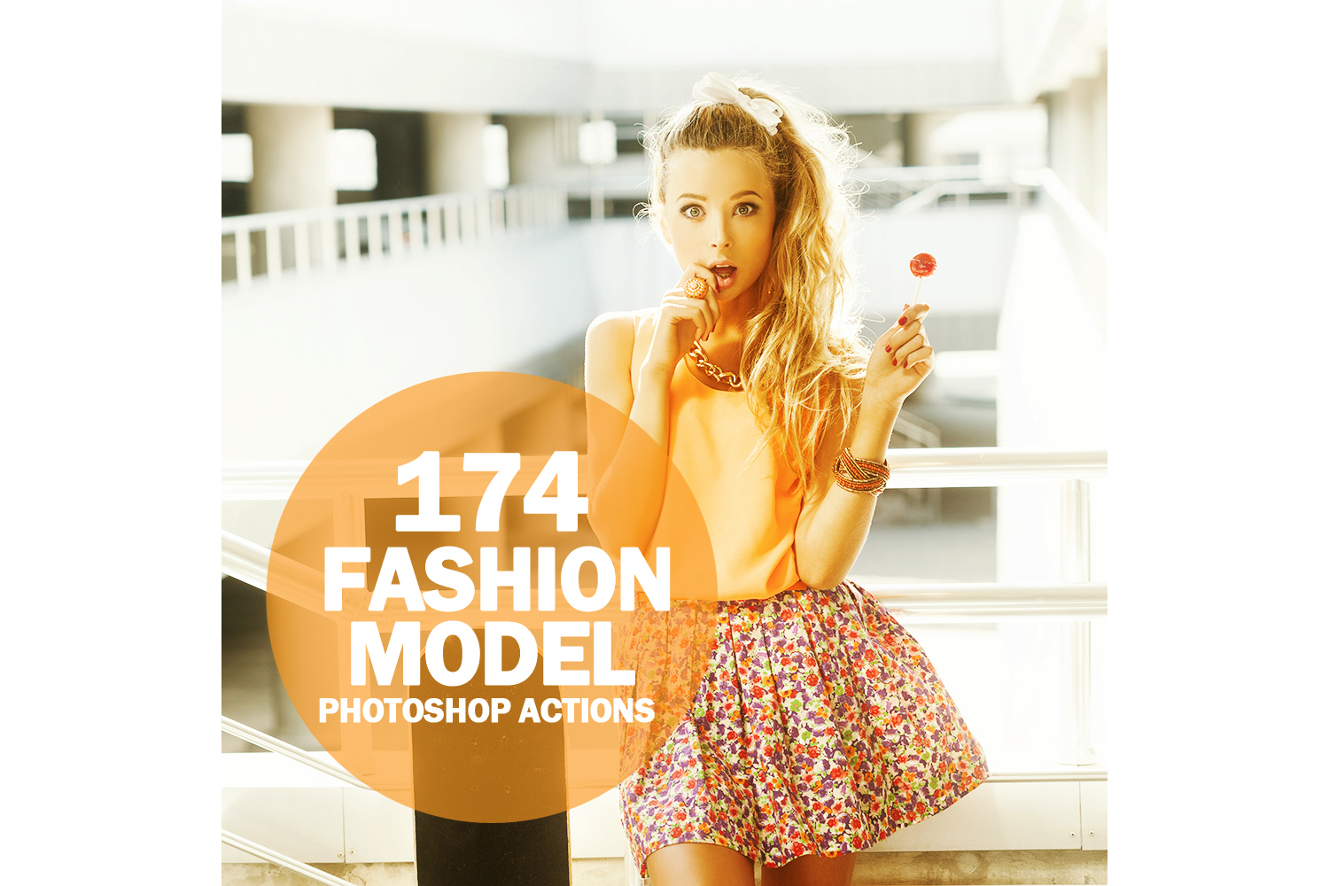 174 Fashion Model Photoshop Actions Collection (Action for photoshop CS5,CS6,CC) example image 1