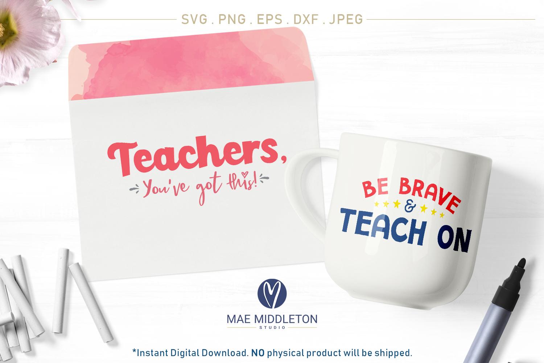 Teacher bundle - printables, svg cut files example image 3