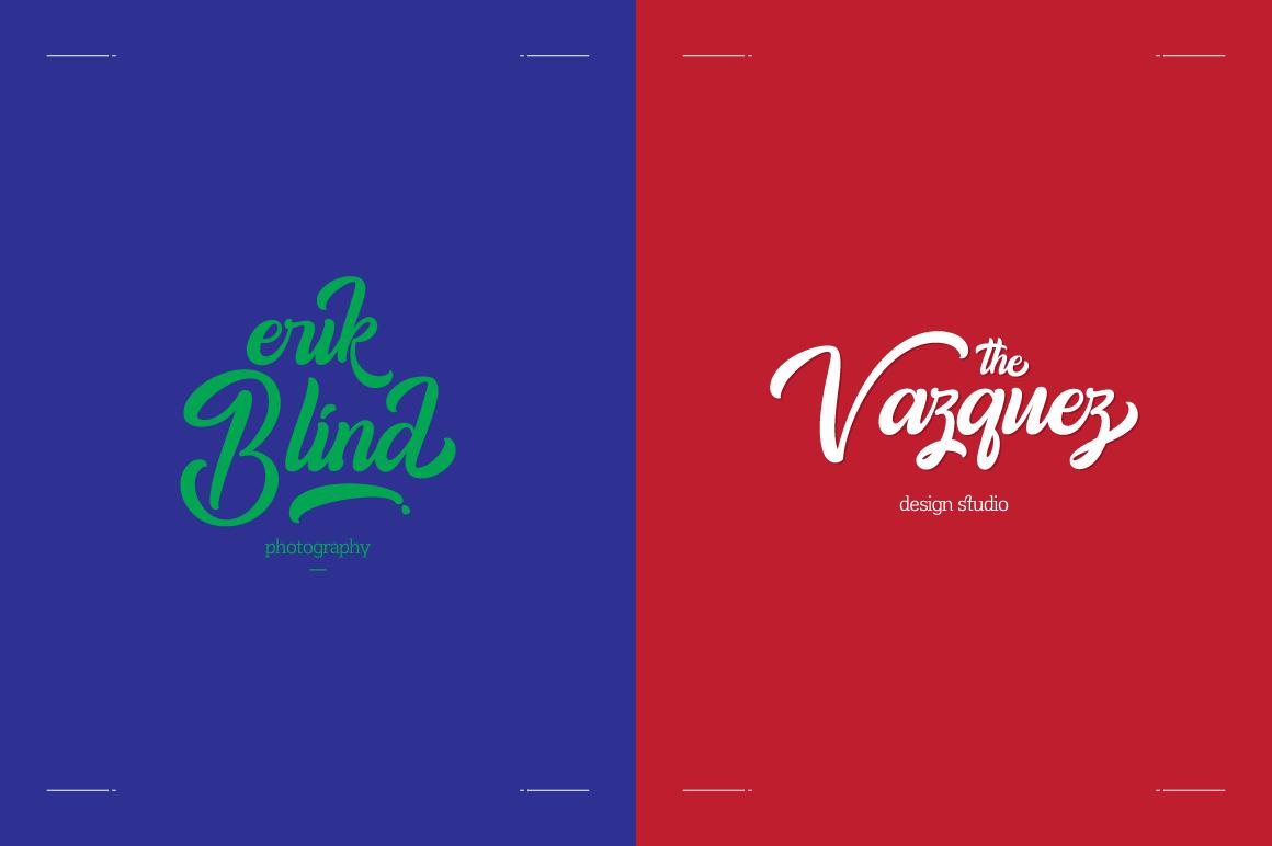 Amigos Typeface example image 2