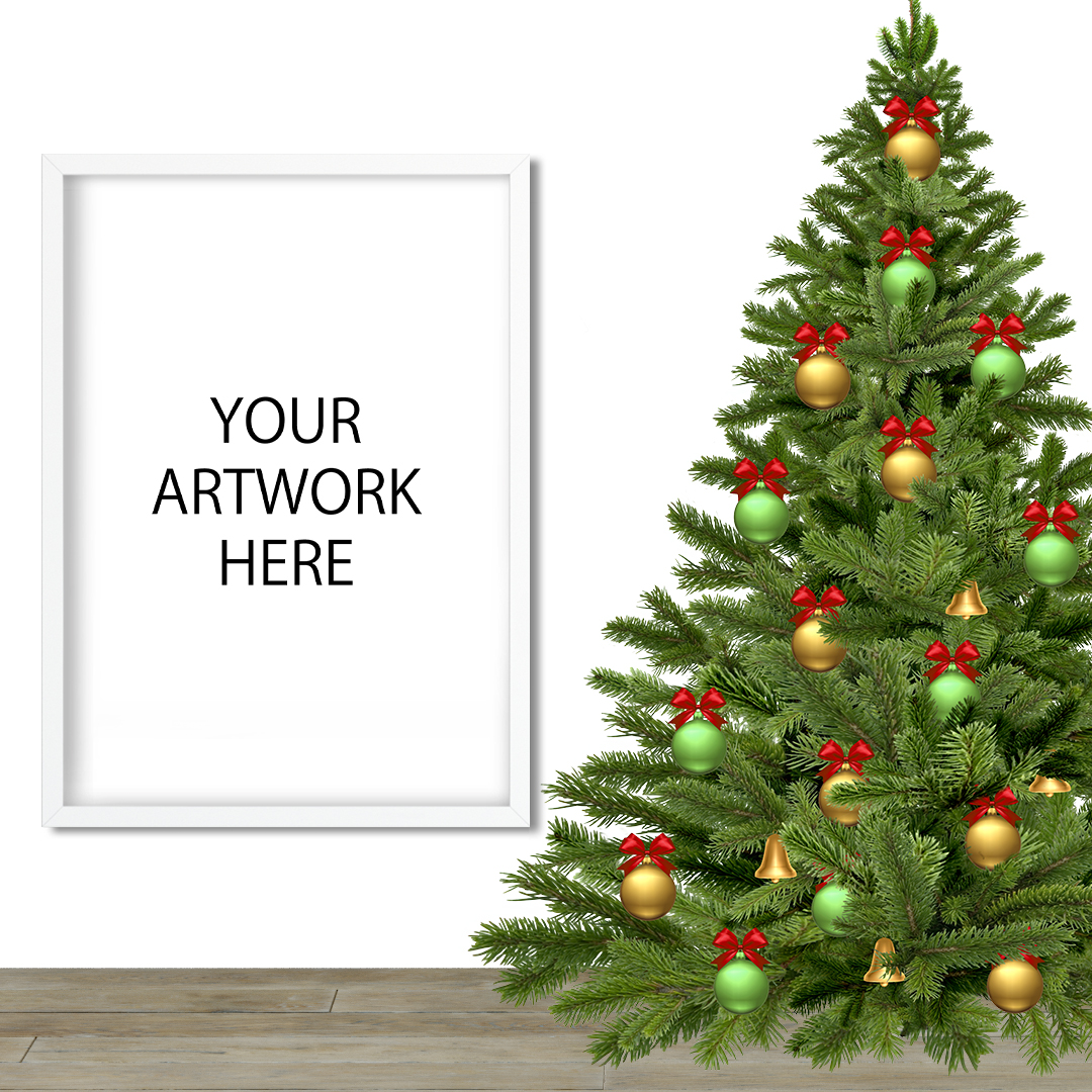 Christmas Mockup Frame for Etsy / Instagram example image 2