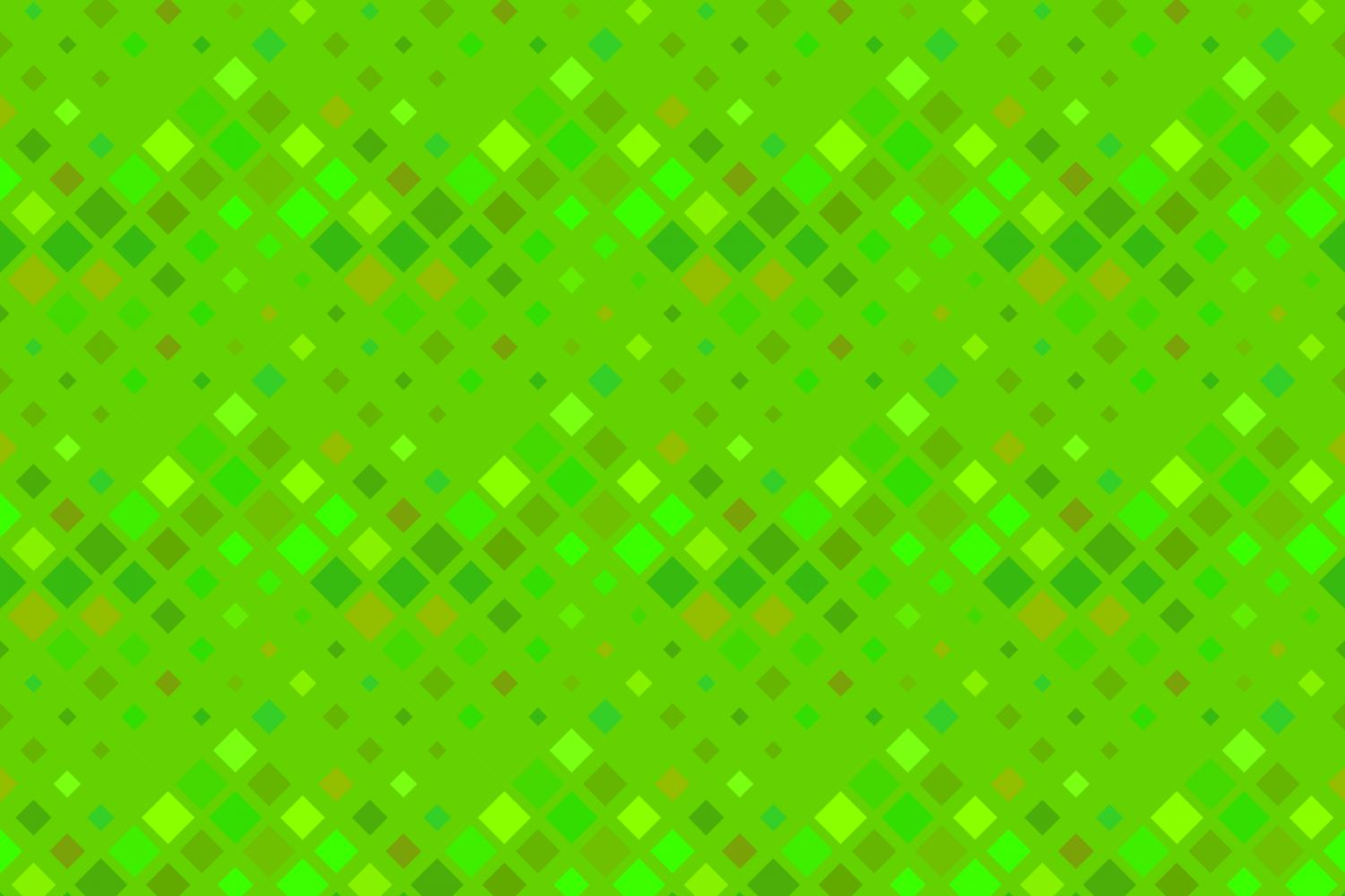24 Seamless Green Square Patterns example image 22