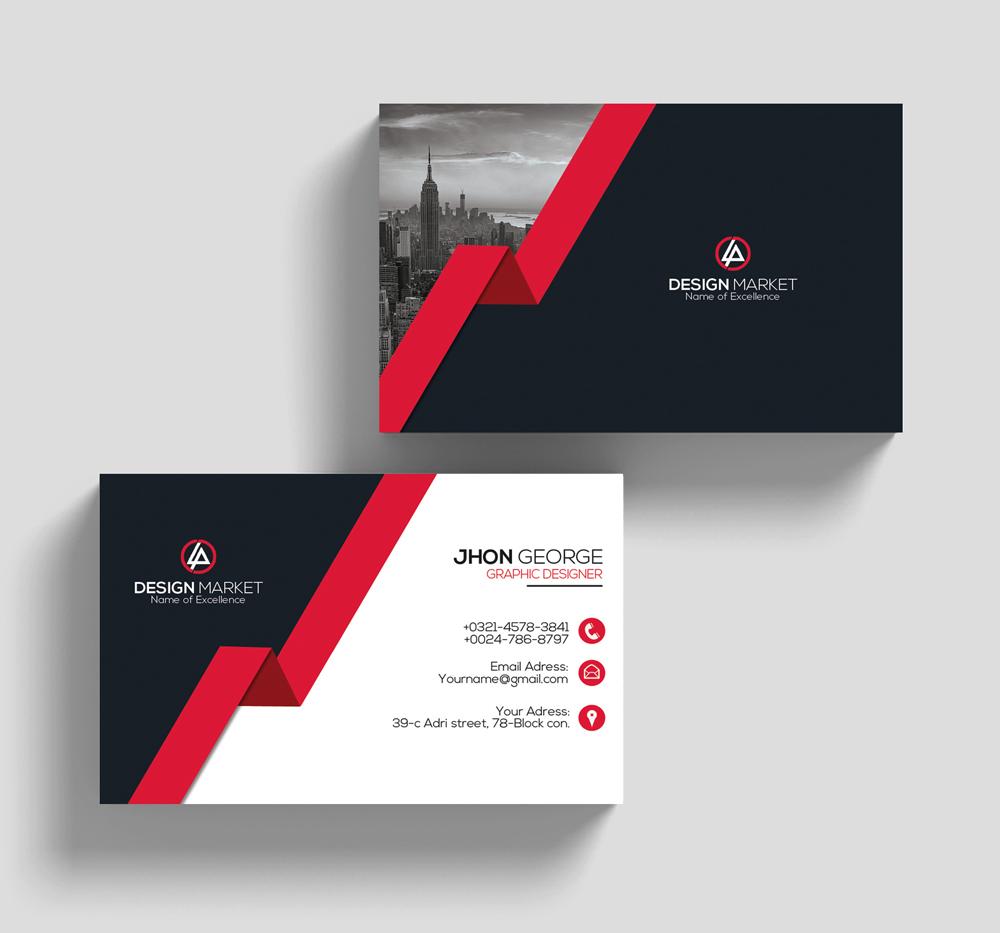 Stylish Business Cards example image 2