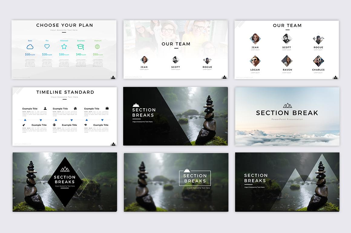 Mountain - Creative Presentation example image 6