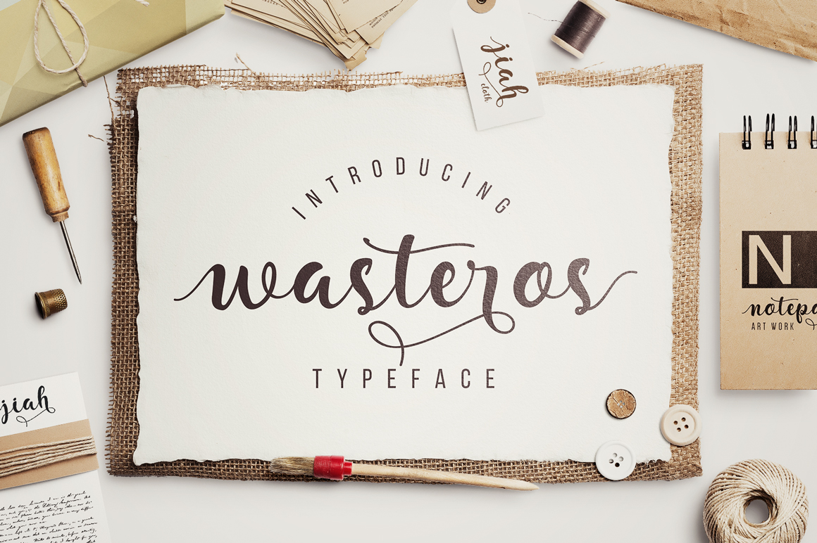 Wasteros Typeface example image 6