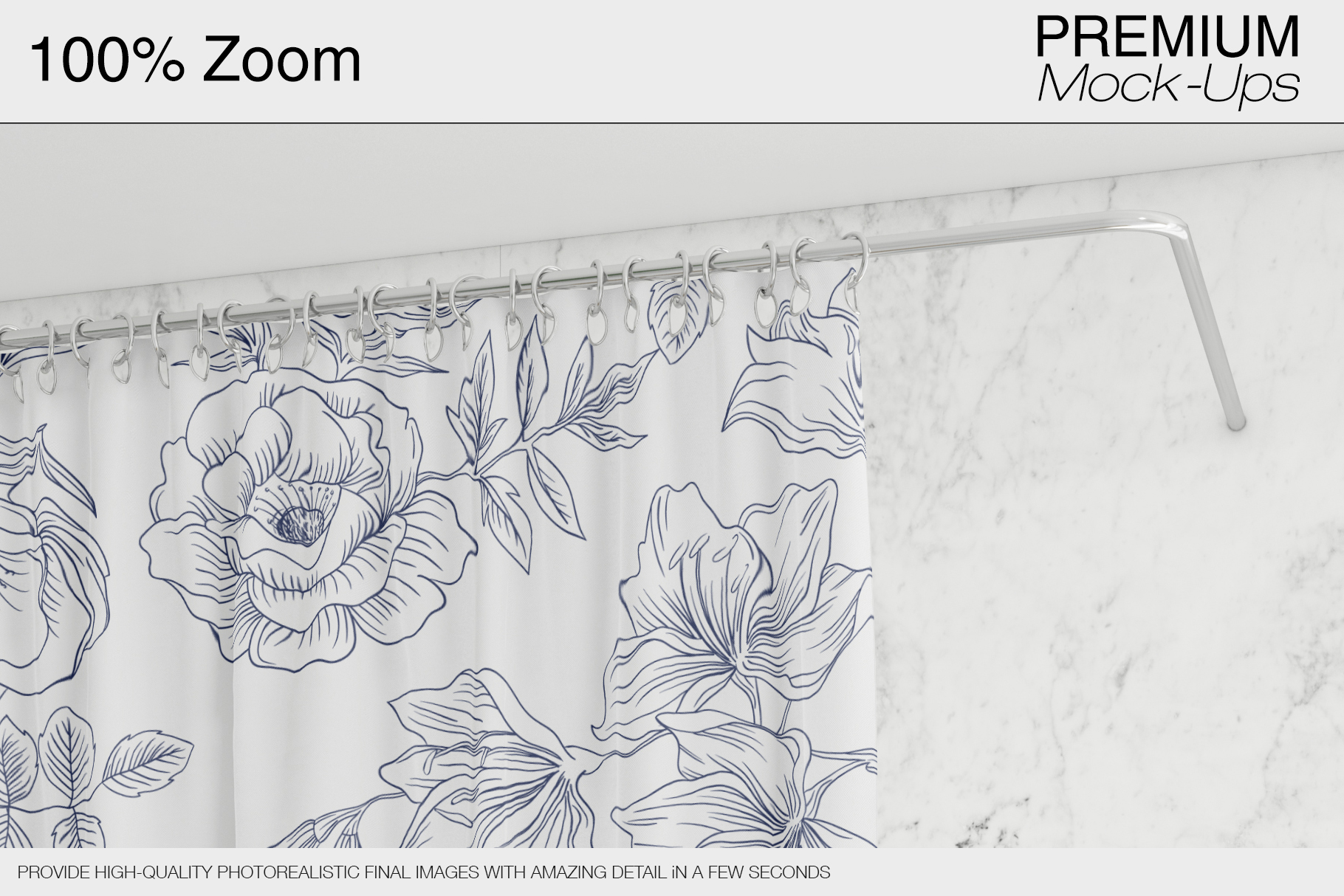 Shower Curtain Mockup Pack example image 12