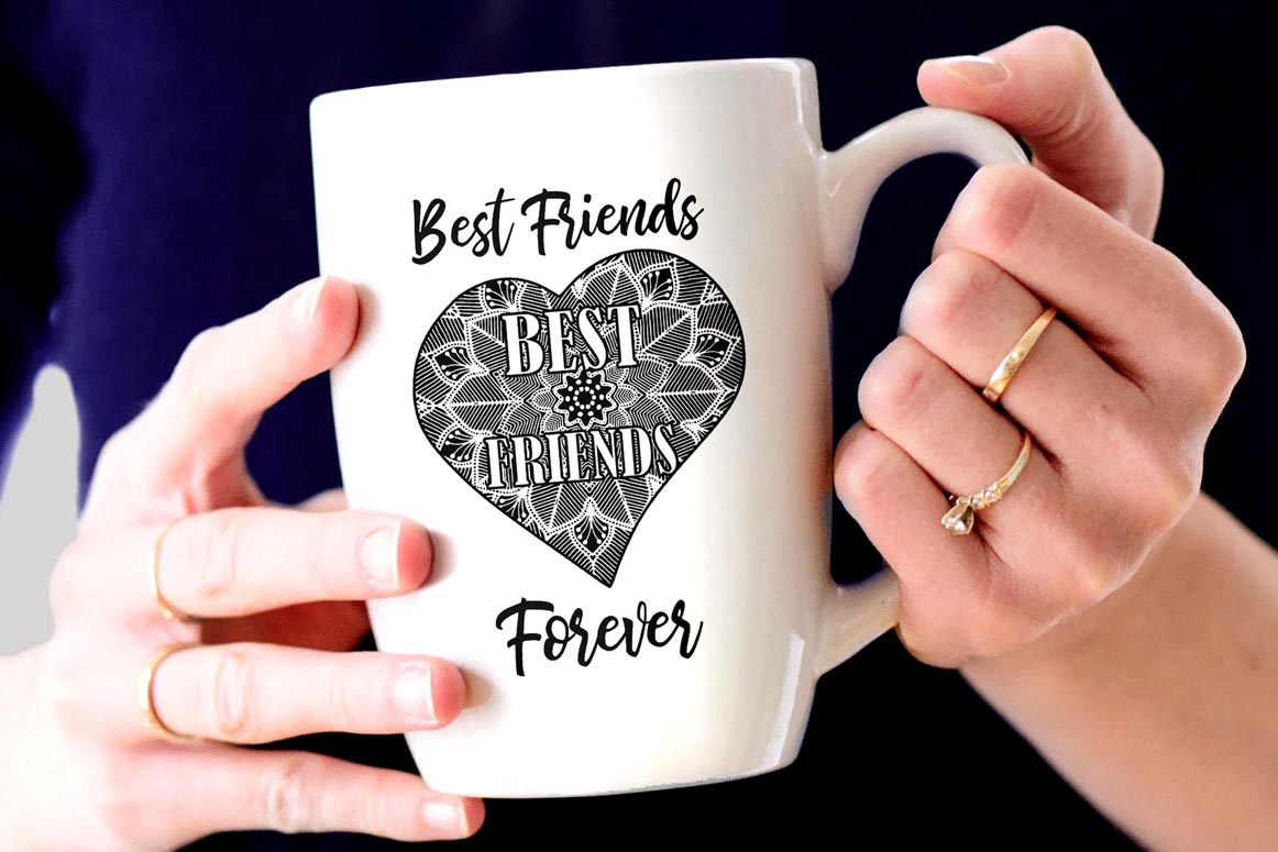 Best Friends Clipart,SOUL SISTERS CLIPART, Bff clipart, example image 9