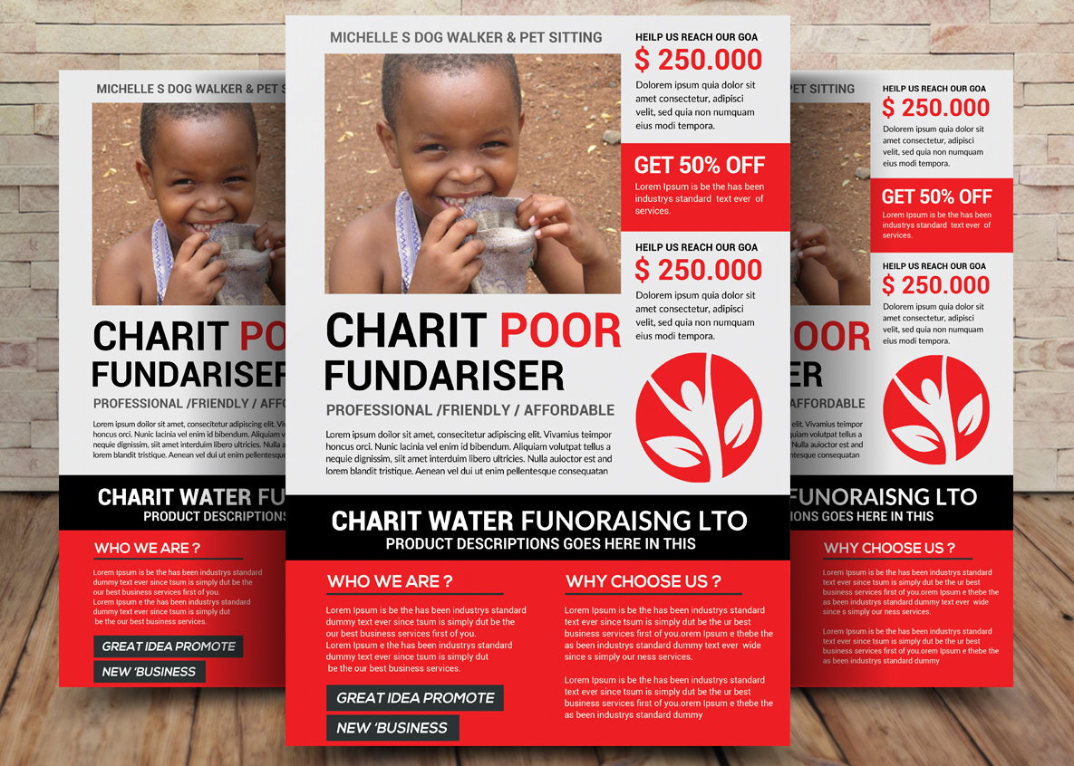 Charity Bundle Flyer 4in1 example image 5