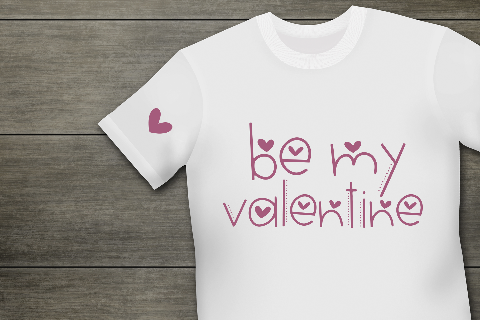 Hi Valentine - A Valentine's Day Font example image 3