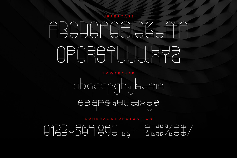 Umbrellast - Sans Serif Font example image 2