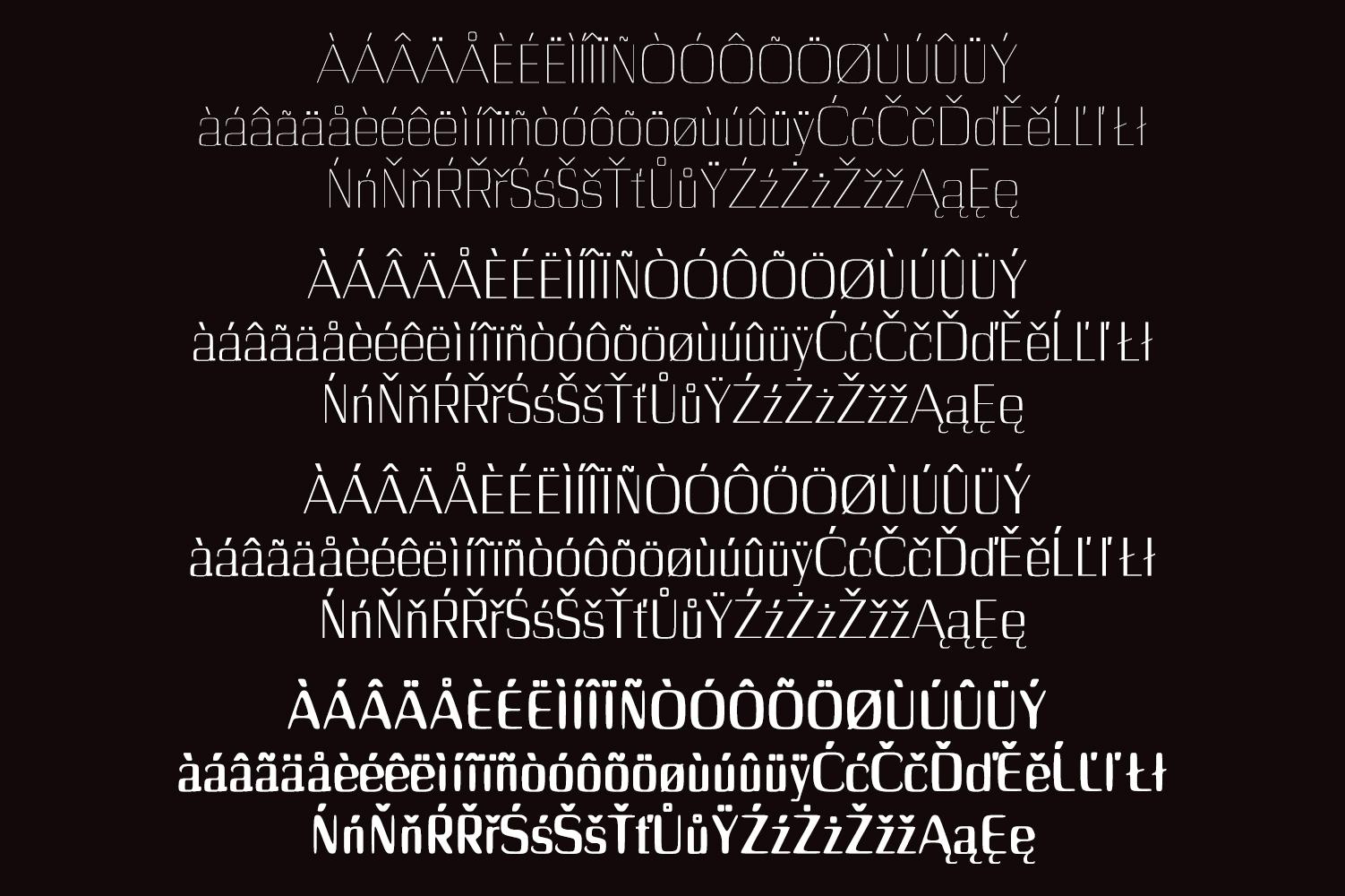 Dayleen Sans Serif Font Family example image 2