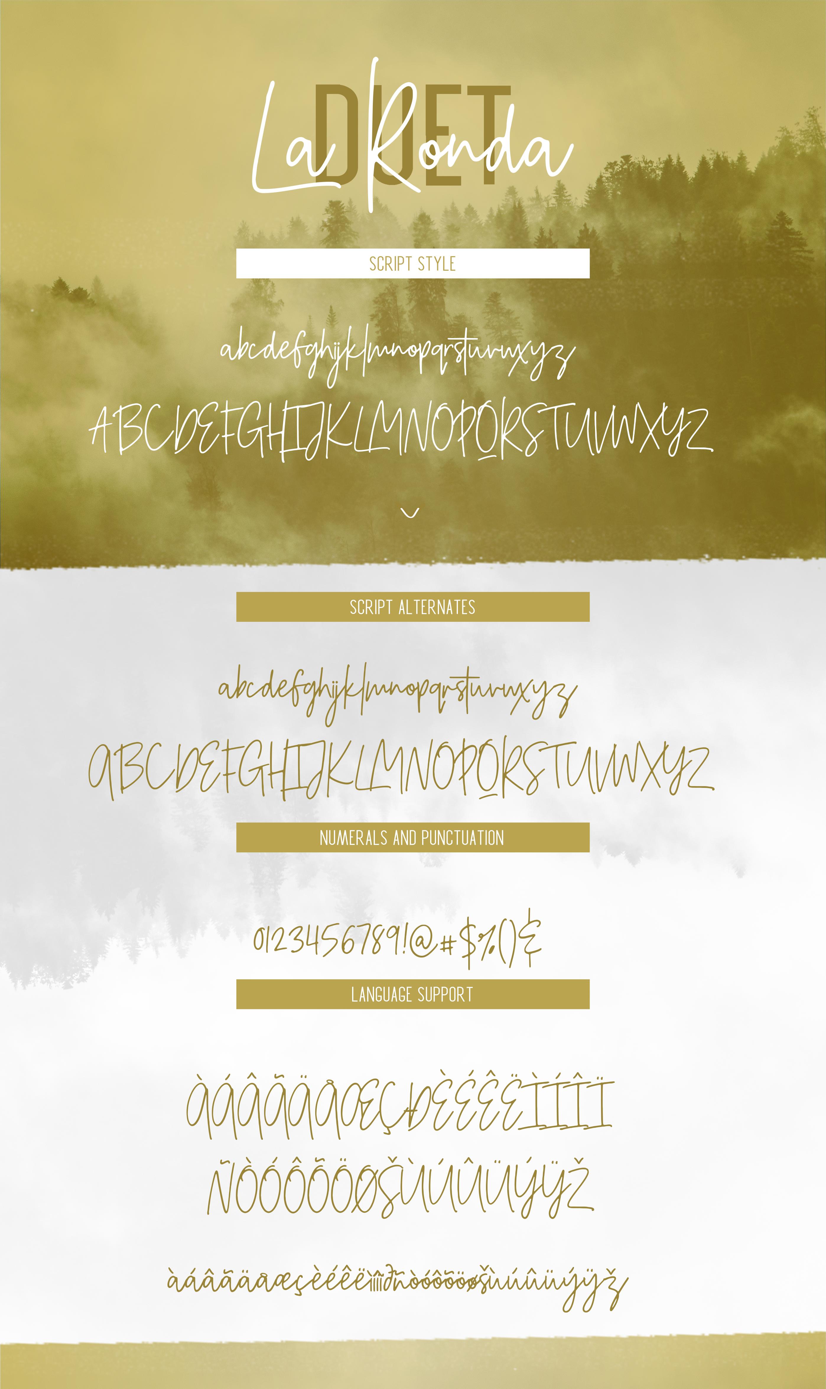La Ronda Signature Font example image 11