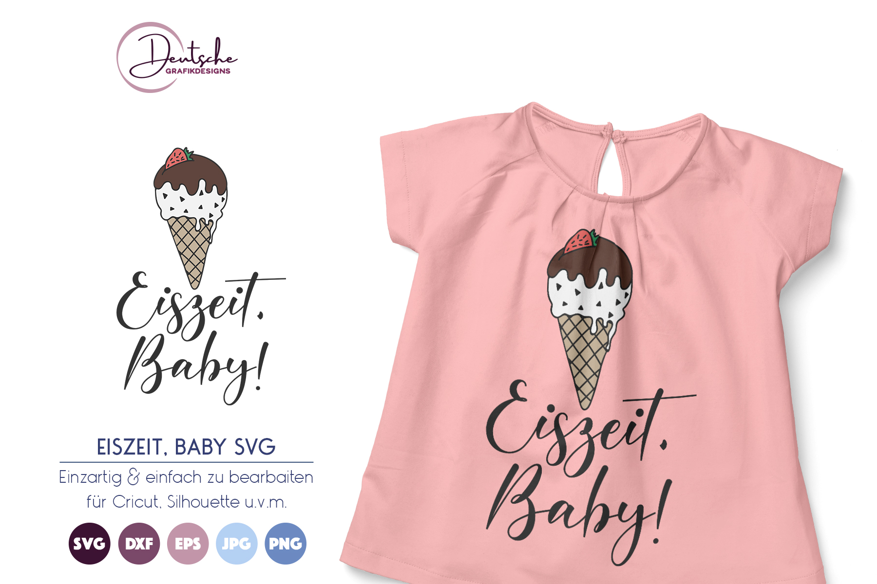 Eiszeit Baby | Sommer SVG example image 1