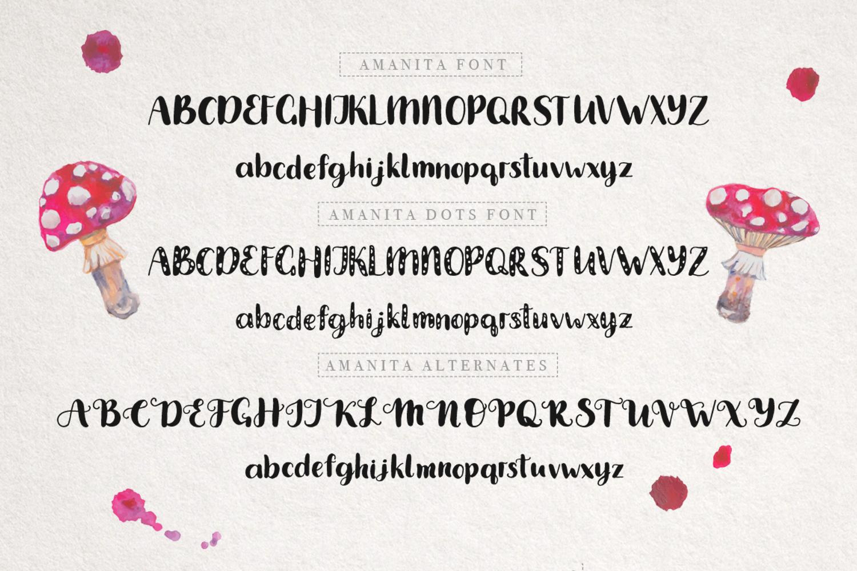 Amanita duo font example image 6