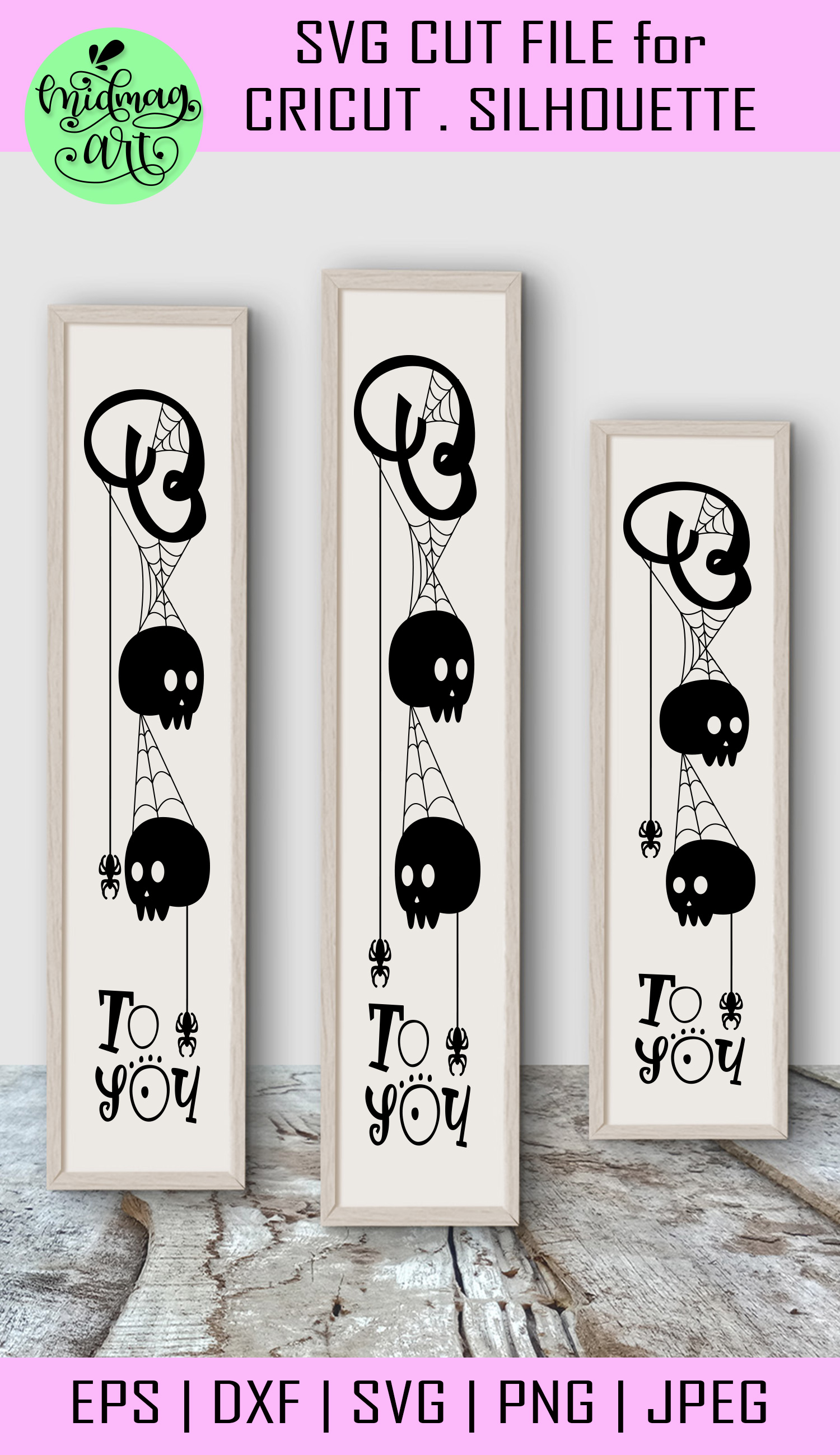 Boo svg, halloween wood sign svg example image 2