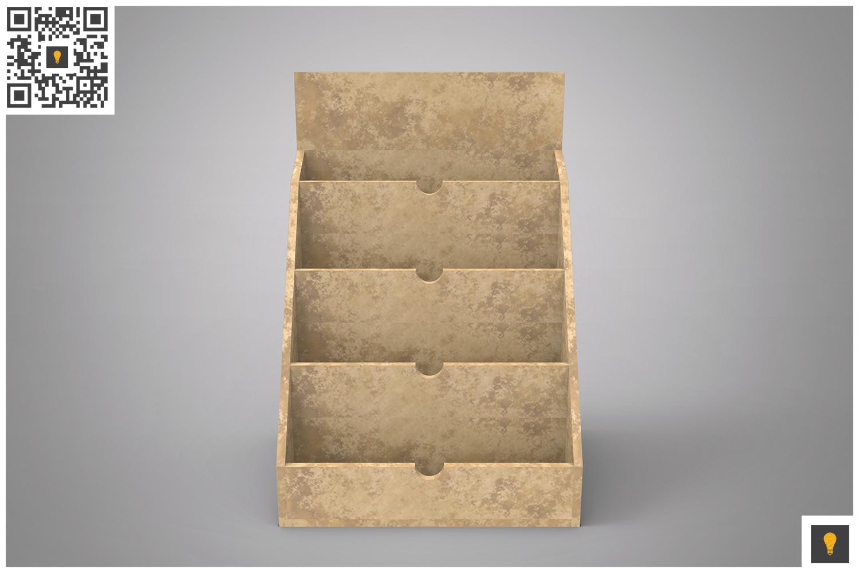 Business Card Holder 3D Render example image 9