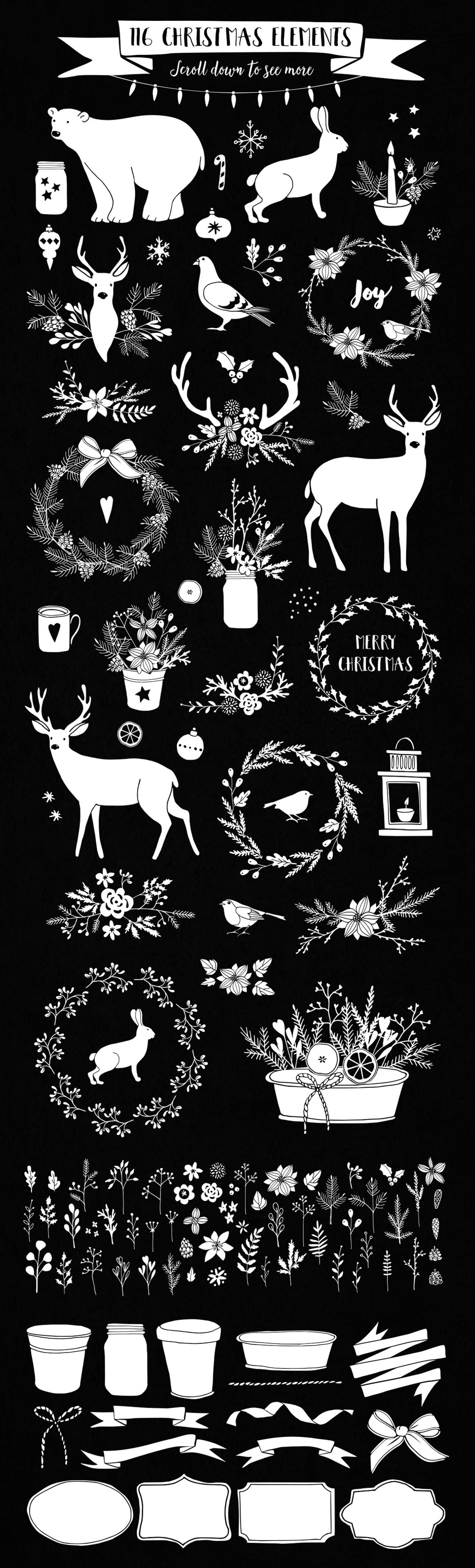 White Christmas set example image 3