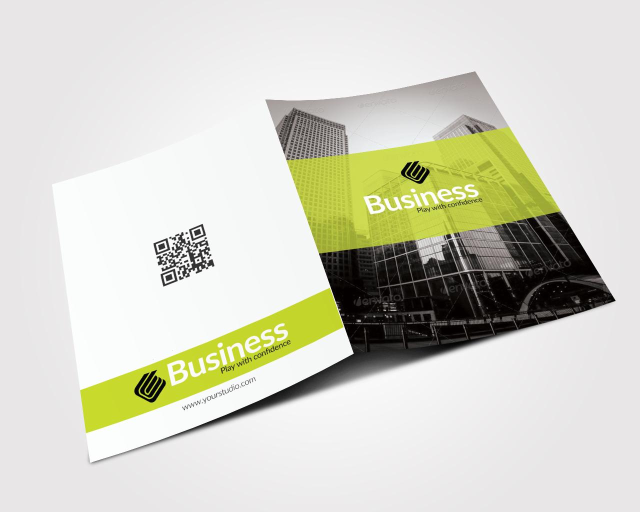 Creative Bifold Business Brochure example image 2