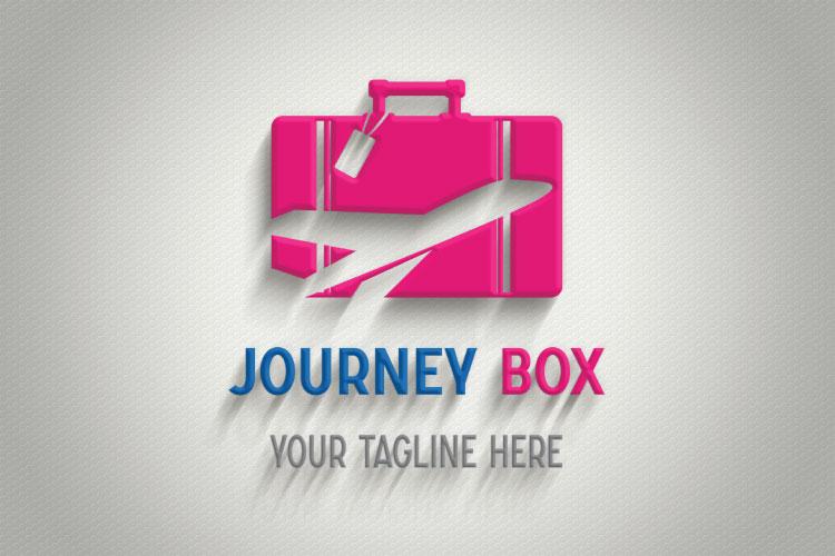 Aeroplane Logo, Box Shape example image 4