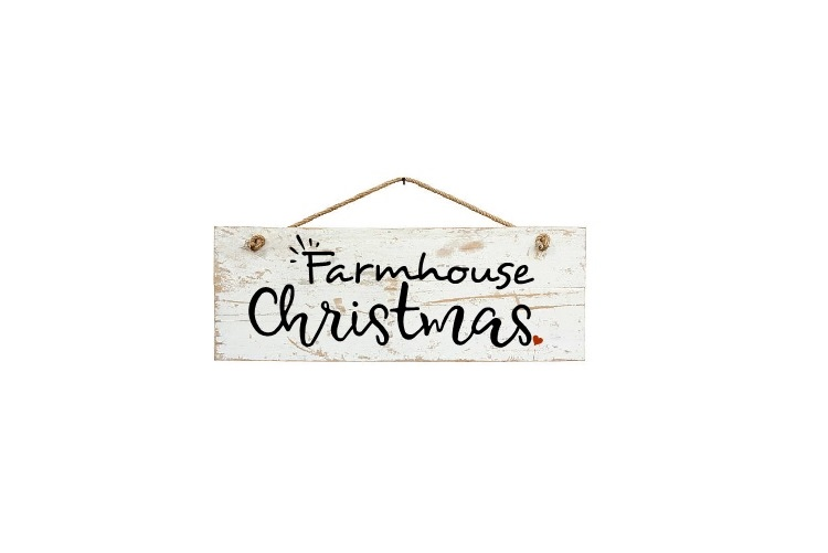Farmhouse Christmas Svg, Christmas Svg, Farmhouse Sign Svg example image 2