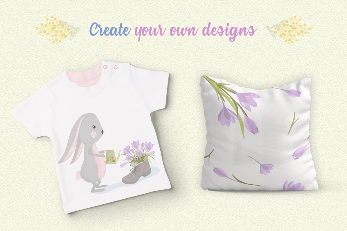 Hello Spring Illustration Set example image 5