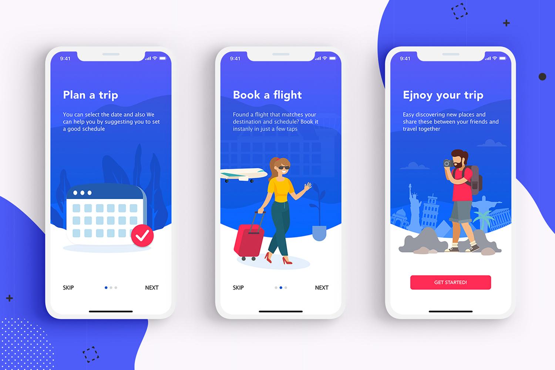 EasyGo - Travel App UI Kit example image 4