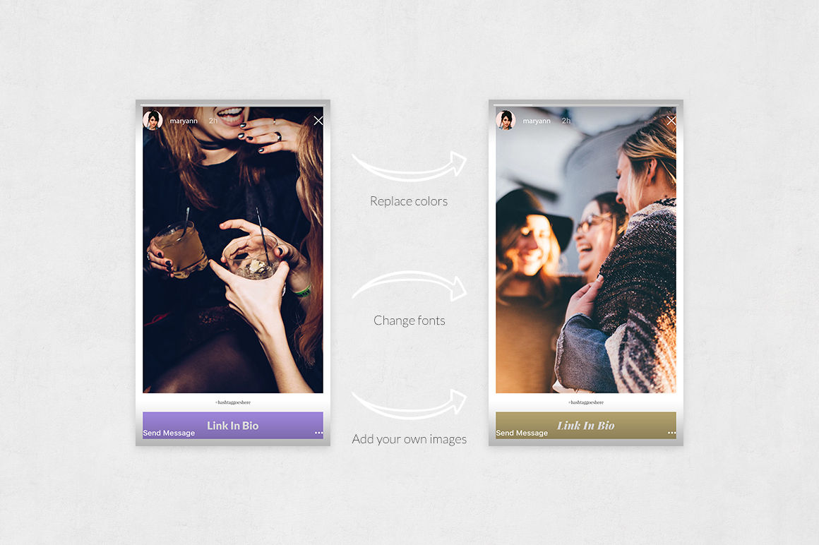 Party Animated Instagram Stories example image 5