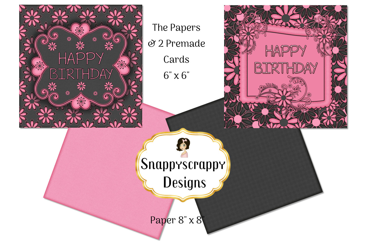 Black and Pink Kit example image 6