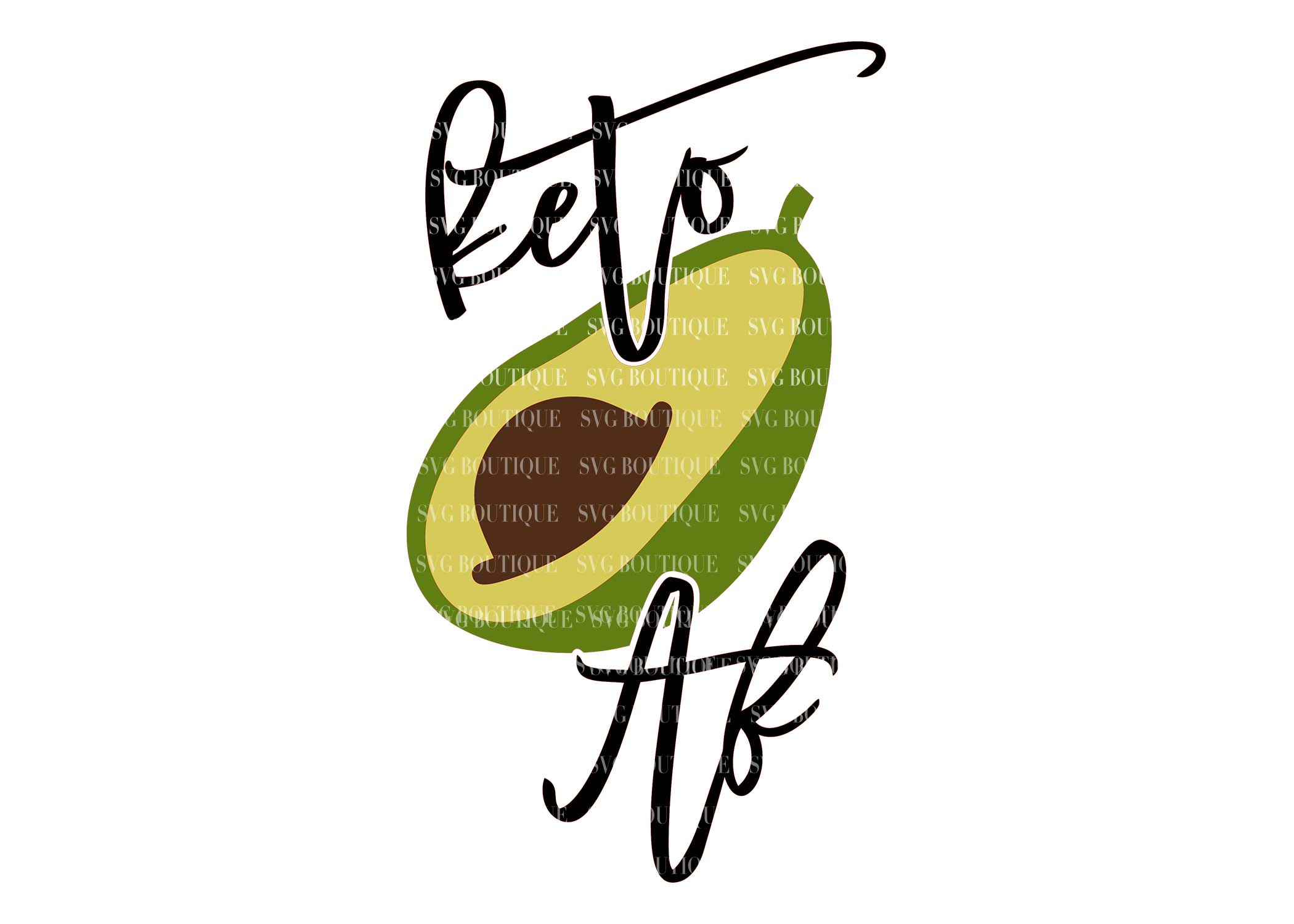 Keto SVG Bundle - Keto Diet Quotes - SVG PNG DFX example image 7