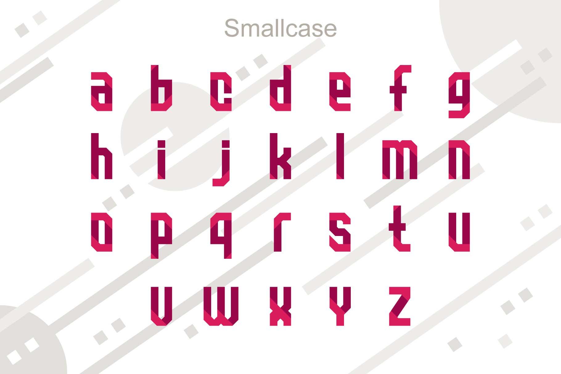 Quarta font family example image 3