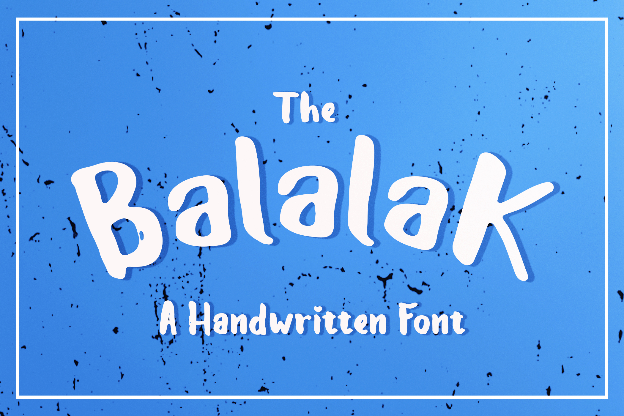 The Balalak Font  5 Style  example image 1