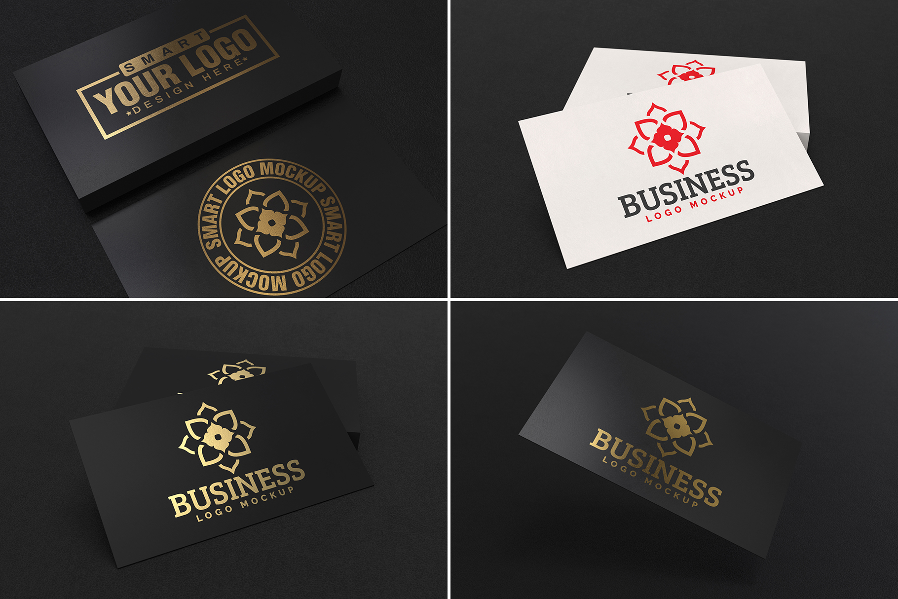 100 Logo Mockups Bundle Vol.2 example image 8