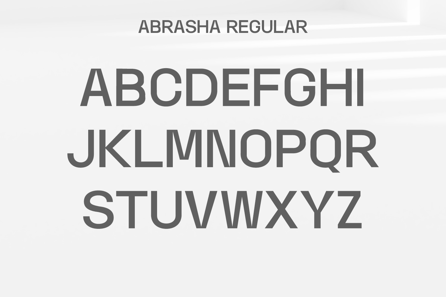 Abrasha Sans Serif Font Family example image 2