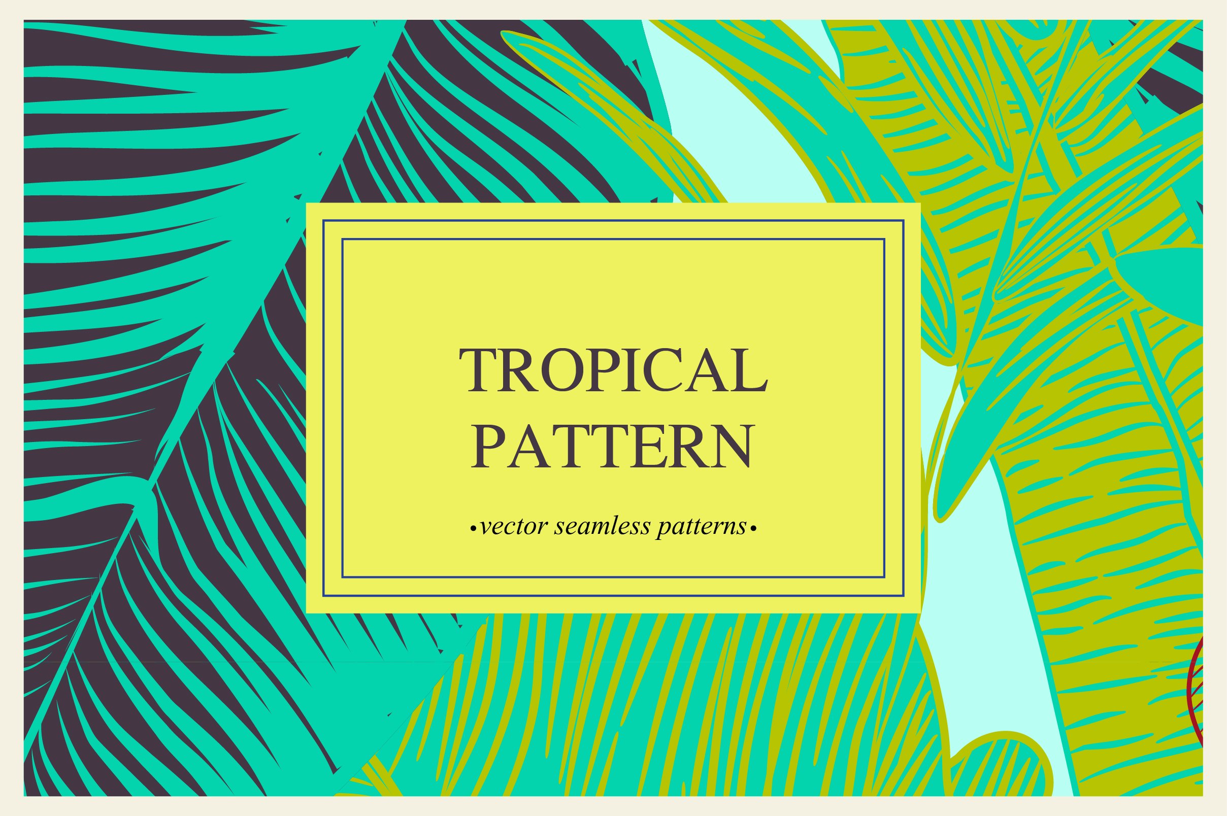Tropical pattern example image 12